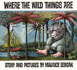 Book cover Where the wild things are