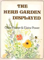 cover of The herb garden displayed