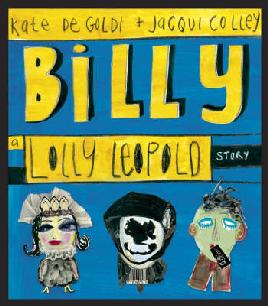 Billy by Kate De Goldi & Jacqui Colley - cover