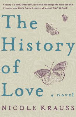 Cover: The History of Love, by Nicole Krauss