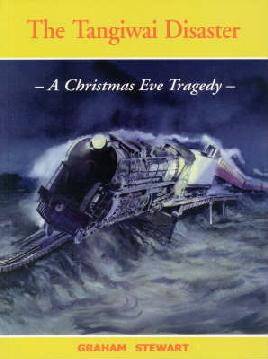 Book cover of the tangiwai disaster