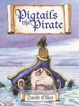 Cover of Pigtails the Pirate