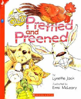 cover: Prettied and preened