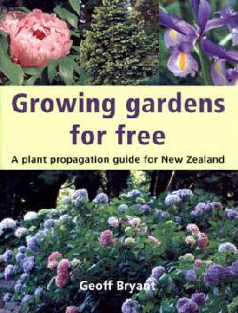 """Growing gardens for free"" book cover"