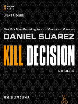 Cover of 'Kill Decision' - eAudiobook