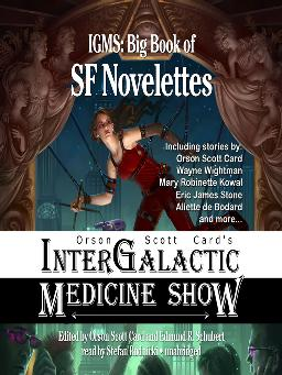 Cover of 'Orson Scott Card's Intergalactic Medicine Show' audiobook