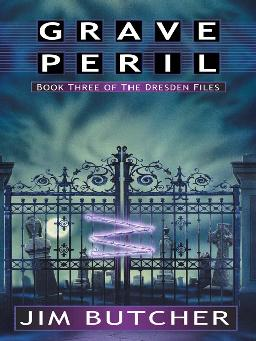 Cover of 'Grave Peril' audiobook