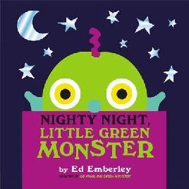 Cover of Nighty Night, Little Green Monster