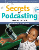 Secrets of podcasting book cover