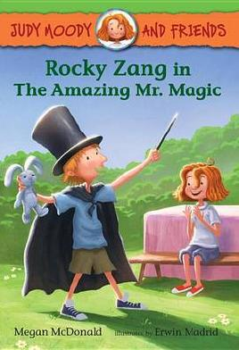 Cover of Rocky Zang In The Amazing Mr. Magic