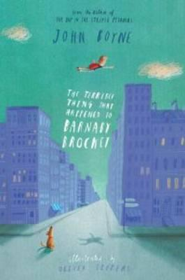 Cover of The terrible thing that happened to Barnaby Brocket