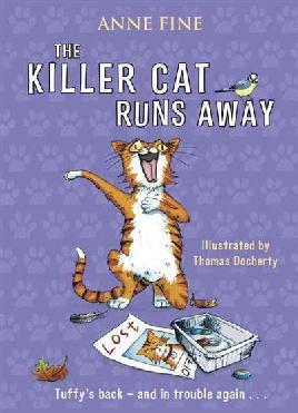 Cover of The Killer Cat Runs Away