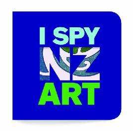 Cover of I Spy NZ Art