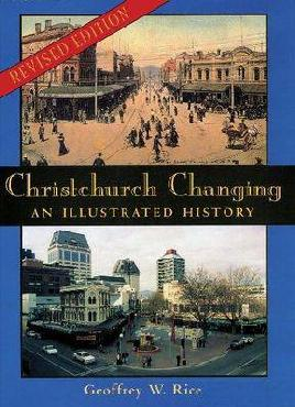 cover of Christchurch Changing