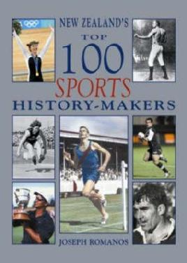 Cover: New Zealand's top 100 sports history-makers