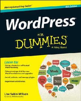 Cover of 'WordPress for Dummies'