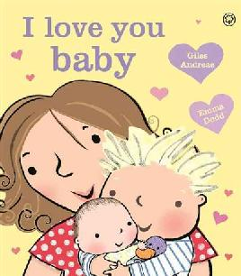 Cover of I love you baby