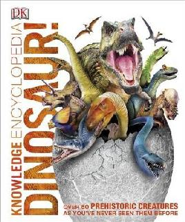 Cover of 'Knowledge Encyclopedia Dinosaur! '