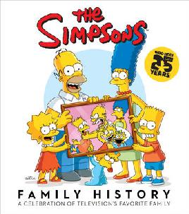 Cover of 'The Simpsons Family History '