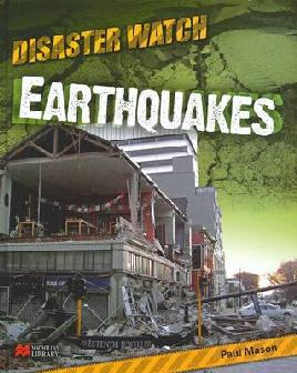 Book cover with earthquakes