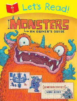 Cover of Monsters and owner's guide by Jonathan Emmett