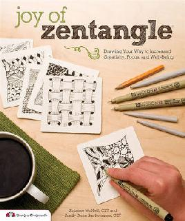 cover of the joy of zentangle
