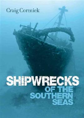 Book cover of shipwrecks of the southern seas