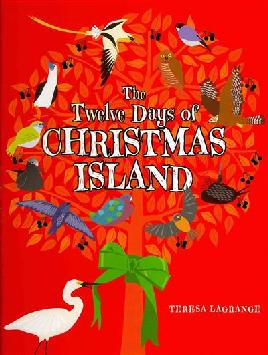Cover of The twelve days of Christmas Island.
