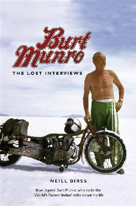 Cover of Burt Munro: The Lost interviews