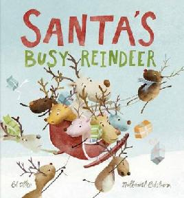 Cover of 'Santa's Busy Reindeer'