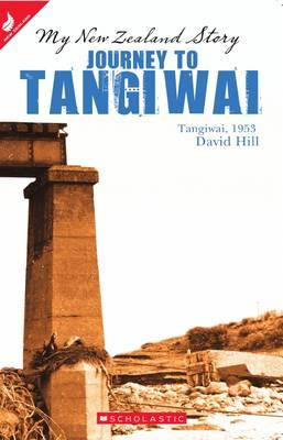 Book cover to journey to tangiwai