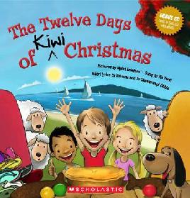 Cover of The 12 days of Kiwi Christmas