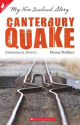 Cover of Canterbury Quake by Desna Wallace