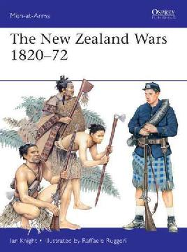 Cover of The New Zealand Wars, 1820-72