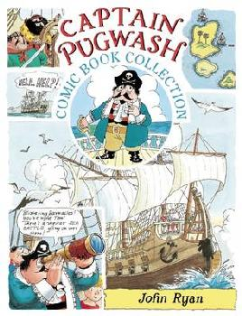 Cover of The Captain Pugwash Comic Book Collection