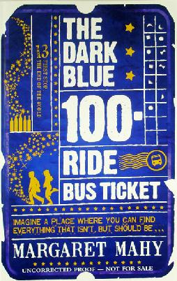 Cover: The Dark Blue 100-Ride Bus Ticket