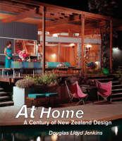 Cover of At home: A century of New Zealand design