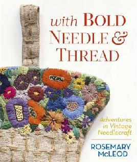 Cover of With bold needle and thread