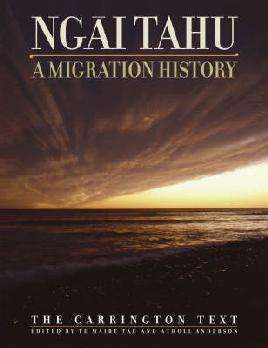 Cover of Ngai Tahu: A migration history