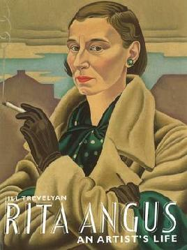 Cover of Rita Angus an artist's life by Jill Trevelyan