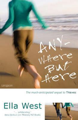 Cover of Anywhere but here