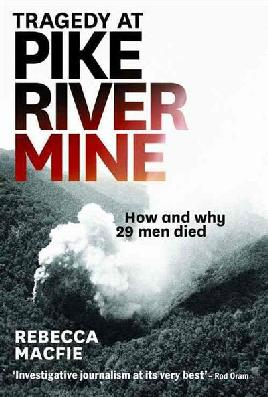 Cover of Tragedy at Pike River