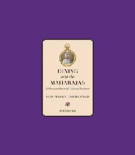 Cover of Dining with the Maharajas