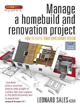Cover ofManage A Homebuild and Renovation Project - e-Book