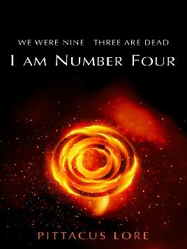 Book Cover of I am Number Four