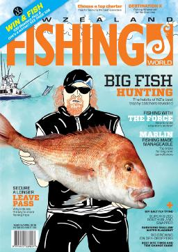 New Zealand Fishing World magazine cover