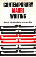 Cover of Contemporary Maori writing