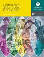 Cover of Smithsonian Global Sound for Libraries